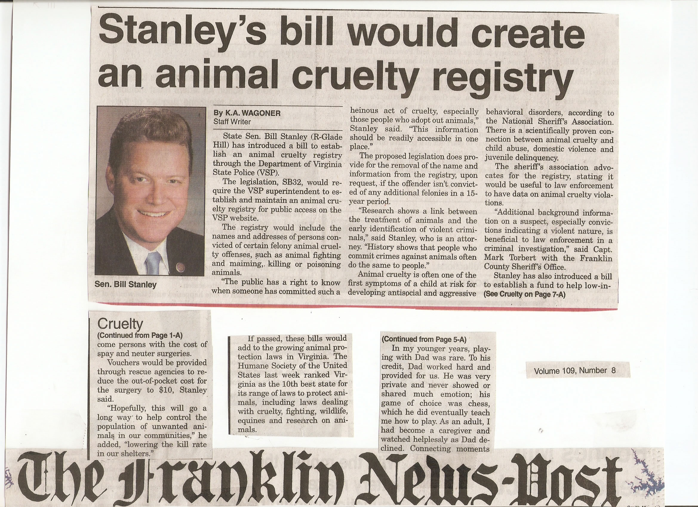 animal cruelty an annotated bibliography Animal cruelty essay examples 61 total results the connections between animal cruelty and other forms of crime 1,497 words  the issues of the animal abuse and the animal welfare act of 1966 264 words 1 page an overview of the animal cruelty and the research laboratories in the united states 439 words.